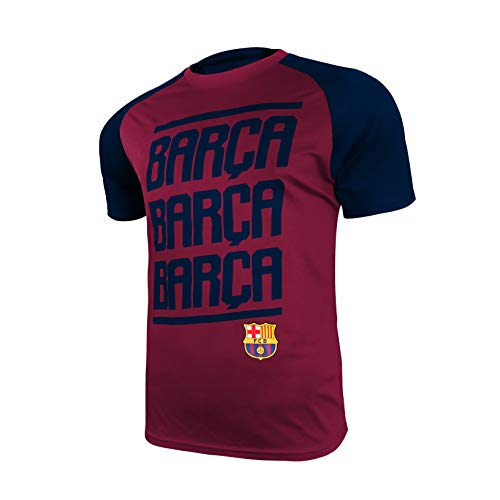 Icon Sports Barça Herren Trainingsshirt UEFA Champions League Fußball Barcelona, abwechselnd, Größe XL