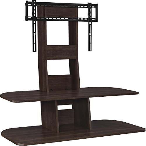 Ameriwood Home Galaxy TV Stand with Mount for TVs up to 65' Wide, Espresso