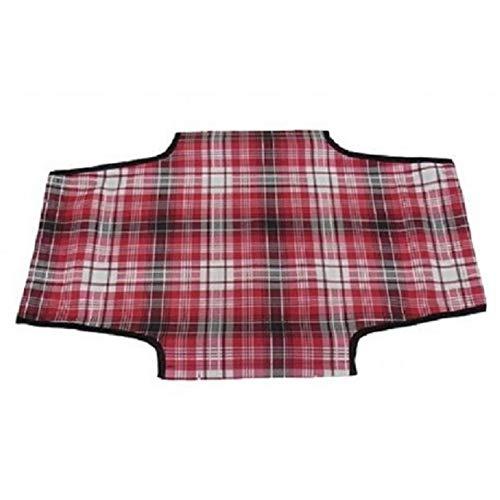 Leopet Brandina Housse de rechange pour chien, en tissu Oxford imperméable, anti-rayures et haute résistance (55 x 90 cm, camouflage rouge)
