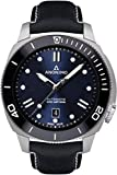 Anonimo nautilo Mens Analog Automatic Watch with Leather Bracelet AM100209006A03
