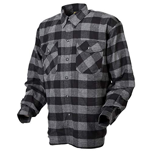 ScorpionEXO Covert Moto Flannel (Black/Grey - X-Large)