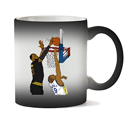 Basketball Block Tazza Calore Cambiamento di Colore