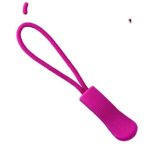 5 uds, Cremallera, tirador, etiqueta, fijador, cordón, lengüeta, clip de repuesto, hebilla rota, bolsa de ropa de viaje, maleta, mochila, accesorios-Type1-Rose
