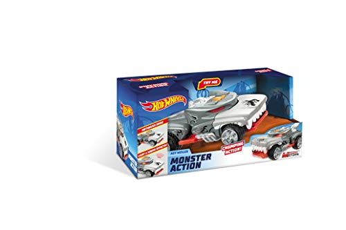 Mondo Motors - Hot Wheels Monster Action Monster Action HOTWEILER - macchina a frizione  per bambini - luci e suoni - 51221