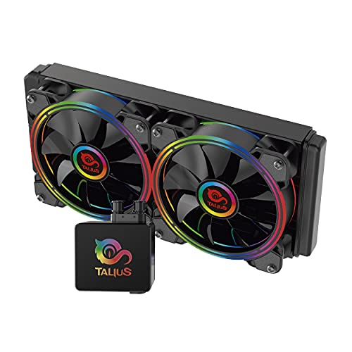 TALIUS - Kit di Raffreddamento Liquido Skadi-240 RGB (Intel-AMD)