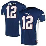 Fanatics NFL New England Patriots Trikot Shirt Tom Brady #12 Poly Mesh Jersey (L)