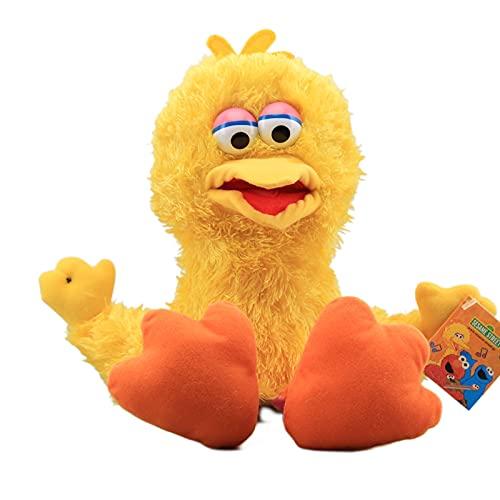 Sesame Street Plush Muppet Dolls Big Bird Plush Marioneta de Mano Encantadores Juguetes de Peluche Niños Regalo Educativo Muñeca Linda Regalo de los niños