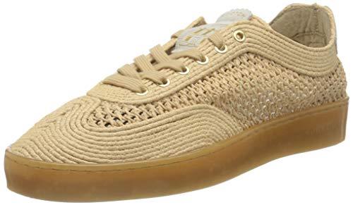 SCOTCH & SODA FOOTWEAR Herren Plakka Sneaker, Natural, 43 EU