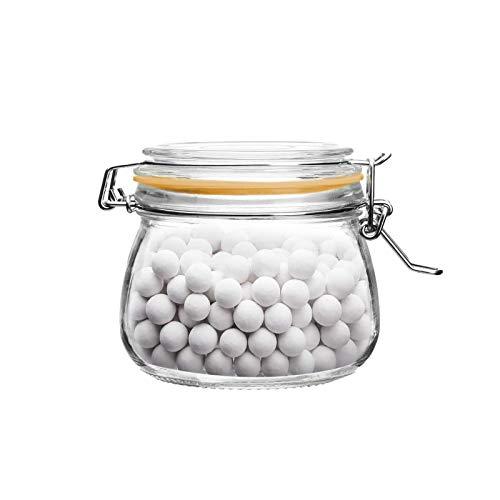 Tarros de cristal para hornear frijoles – 500 ml con tapa de...