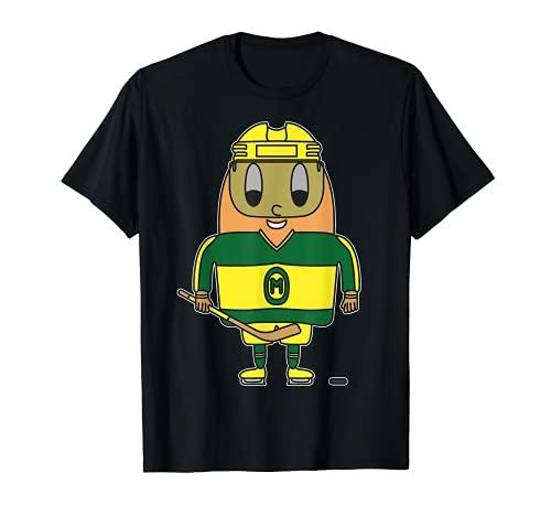Hielo-Hockey-Player Huevo Camiseta