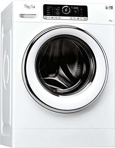 Whirlpool FSCR90422, Lavatrice a Carica Frontale a Libera Installazione, A+++-40%, 9kg, 11 Programmi, 1400 Giri Min, Bianco