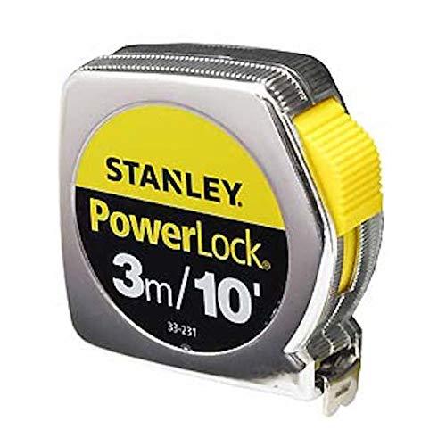 Stanley(スタンレー)Power Lock ( パワー ロック ) 3m/10 コンベックス 巻尺 メジャー [並行輸入品]