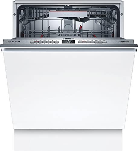Bosch Elettrodomestici Lavastoviglie Incasso a Scomparsa Totale, Serie 4, Silenziosa, di Facile Installazione, Veloce e Facile, 60 cm, 13 Litri, Inox