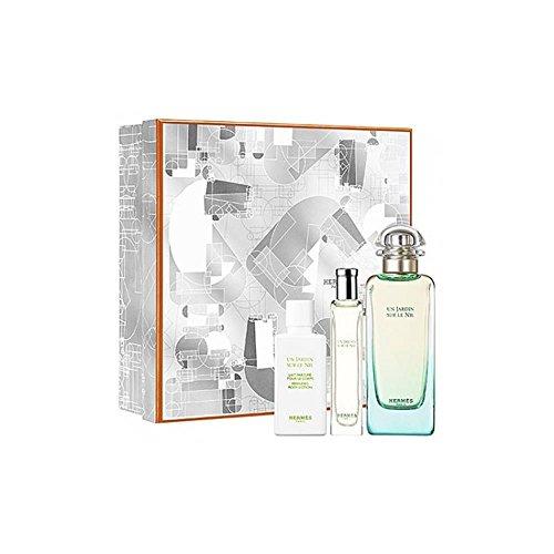 Hermes Un Jardin sur Le Nil Geschenkset 100ml Eau de Toilette + 7.5 ml Eau de Toilette + 80 ml Body Lotion