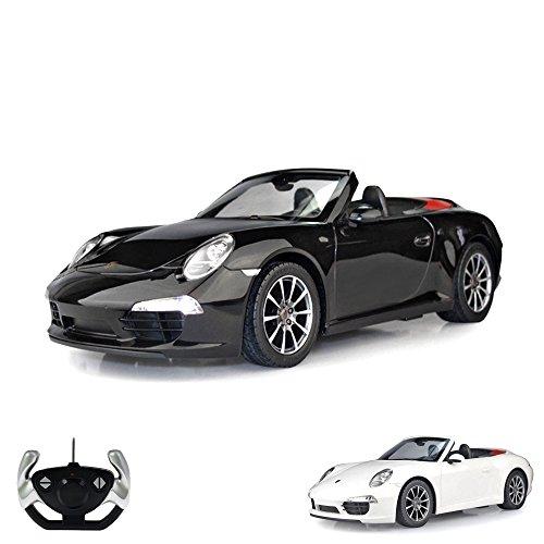 RC Auto kaufen Rennwagen Bild: Porsche 911 Carrera S - RC ferngesteuertes Lizenz-Fahrzeug im Original-Design, Modell-Maßstab 1:12, Ready-to-Drive, Auto inkl. Fernsteuerung, Neu*
