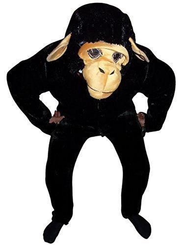 F84 Taglia XL Costume da Scimmia, Scimmia Costumi di Carnevale, Scimpanzé Costume di Carnevale, per Adulti per il Carnevale, adatto anche come regalo di compleanno e di Natale