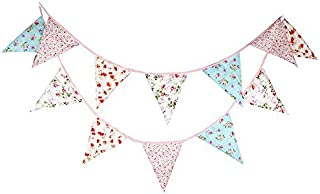Best fabric bunting triangles Reviews