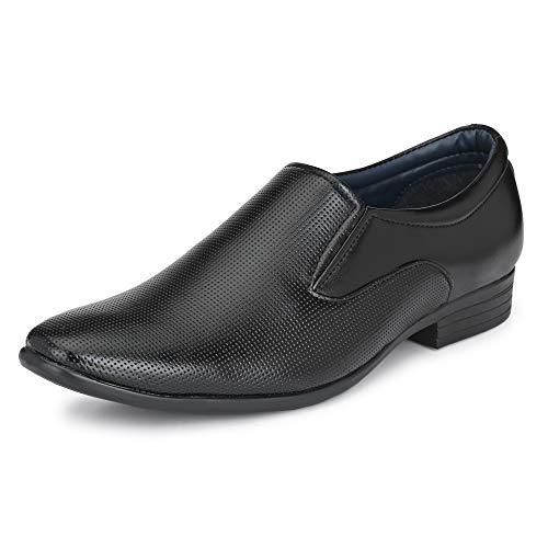 Centrino Men's Black Formal Shoes - 8 UK/India (42 EU)(9358-003)