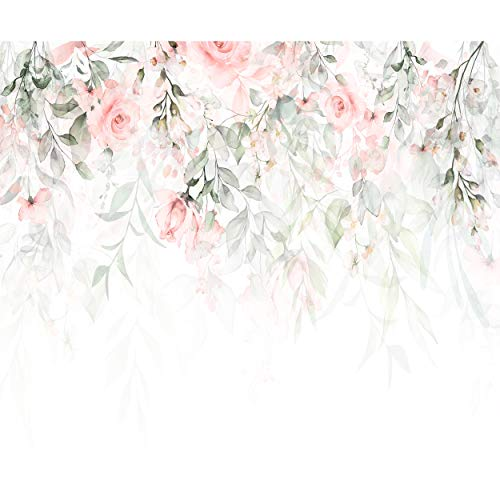 decomonkey -   Fototapete Blumen
