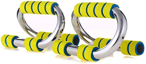 Mancuerna Core abdominal Entrenadores 1-Par empuja hacia arriba barras pie, con mangos antideslizantes Foam Grip for los músculos del pecho del edificio principal o en el gimnasio del entrenamiento de