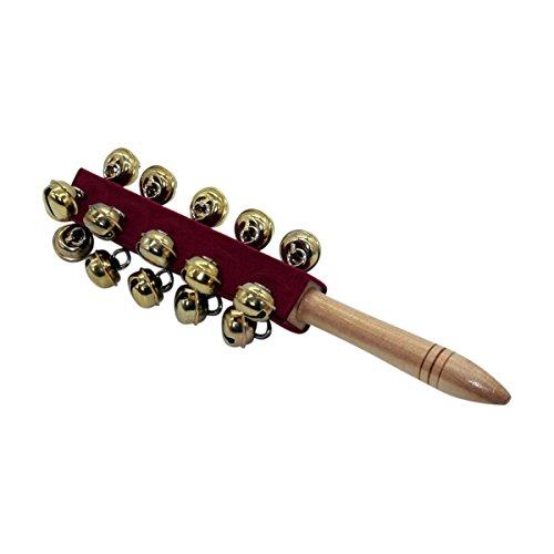 Schellenrassel Schellenstab mit Glocken - Länge 24 cm - 3850