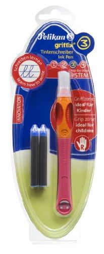 Pelikan griffix Tintenschreiber pink für Rechtshänder