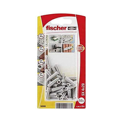 FISCHER 090886 - Blister taco nylon SX 4x20 K NV