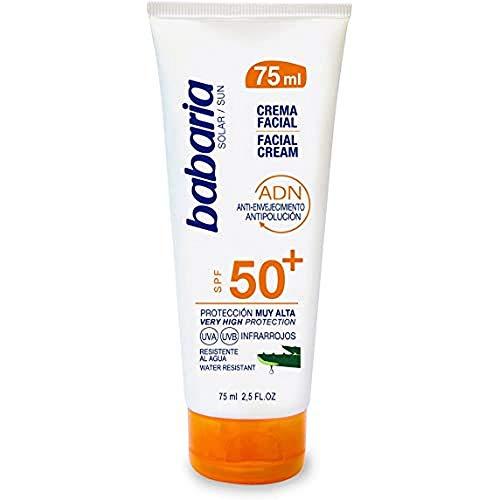 BabariaCrema Facial Solar SPF 50+ Aloe Vera