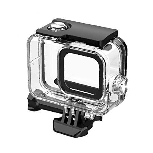 Berrywho Caso de Buceo Impermeable de la Caja Protectora para cámara bajo el Agua GoPro8 Acción Accesorios de la cámara Negro