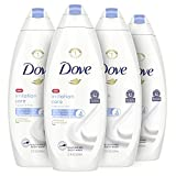 Dove Body Wash For Sensitive Skin and Eczema-Prone Skin Fragrance Free and Sulfate Free Ultra-Moisturizing for Dry, Itchy Skin 22 oz 4 Count