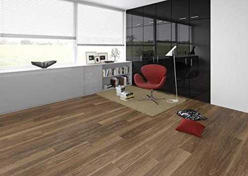 JOKA Classic Designböden330 2,0mm/NS 0.4mm Dryback 2857 Classic Nuttree 18,42x121,92cm Paket 3,37 m² Vinylboden Klebevariante