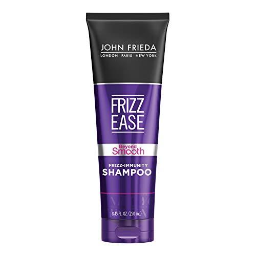 John Frieda Frizz Ease Beyond Smooth Frizz-Immunity Shampoo, Anti-Humidity Shampoo, Prevents Frizz, 8.45 Ounces, with Pure Coconut Oil