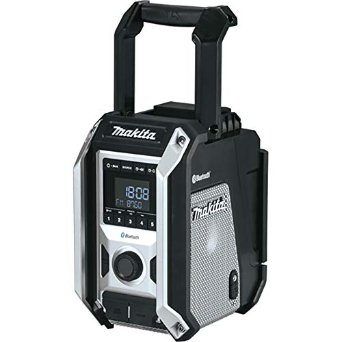 Makita DMR115B 12V Max to 18V LXT Li-ion DAB/DAB+ Job Site Radio with Bluetooth - Batteries and Charger Not Included