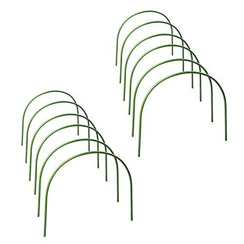 ZRSWV 12 aros de invernadero, estructura de soporte de...