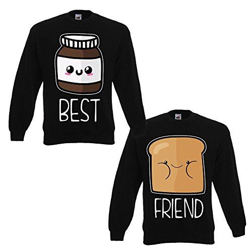 You And me Best Friend brood en chocolade paar