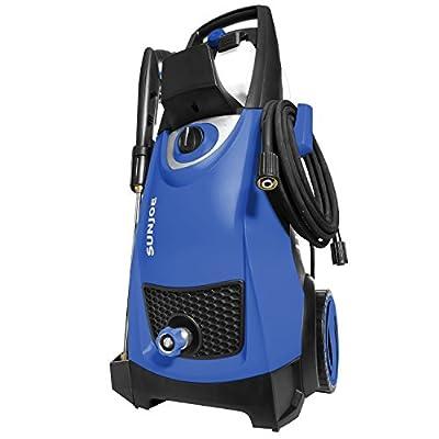Sun Joe SPX3000-SJB Pressure Joe 2030 Max Psi 1.76 Gpm 14.5-Amp Electric Pressure Washer, Dark, Blue