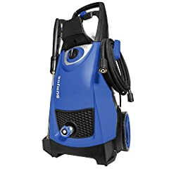 Powerful motor: powerful 14. 5-Amp/1800-watt motor generates up to 2030 psi/1. 76 GPM for maximum cleaning power and water inlet temperature (max) is 104 degrees Fahrenheit Versatile: tackle a variety of cleaning tasks: homes, buildings, RV's, cars, ...