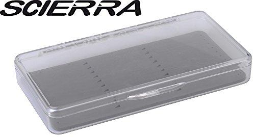 Scierra Stack'em Salmon (19x10x3cm) Angelbox für Lachsfliegen, Fliegendose, Angelbox zum Fliegenfischen, Anglerbox für Fliegenfischer, Köderbox für Fliegen, Box fürs Fliegenangeln