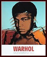 ポスター アンディ ウォーホル モハメド アリ 1977 額装品 ウッドベーシックフレーム(ブラウン)