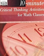 10-Minute Critical Thinking Activities for Math