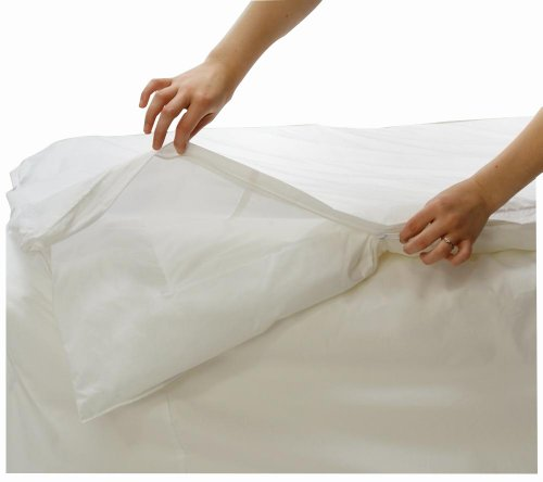 All Soft comforter cover made of 100% cotton against dust mites and bed bugs, 220 x 230 cm