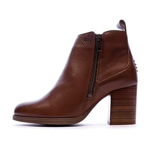 TBS Boots à Talon Marron Femme Rosalia