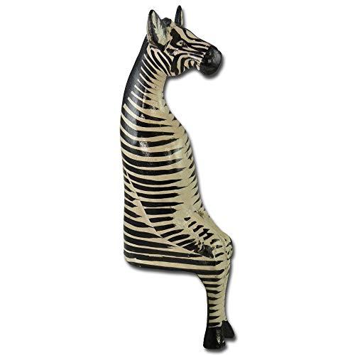 African Attitude Holztier Sitting Zebra