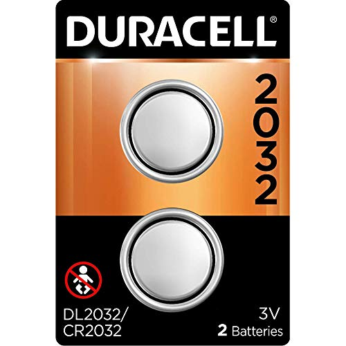 Duracell - 2032 3V Lithium Coin Battery - with bitter coating - 2 count
