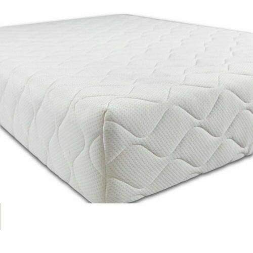 Baby Slumber Pure Foam Cot Bed Mattress Quilted Breathable With Removable Cover (120 x 60 x 13 cm)