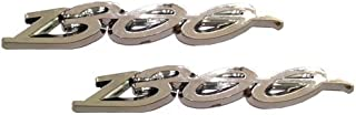 Motorcycle Fender/Saddlebag Emblems