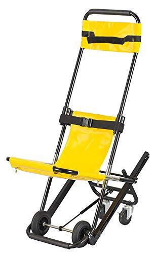 GJX-Rollstuhl Medizinischer Aufzug Treppen Lehrstuhl for Krankenwagen Feuerwehrmann Evakuierung Gebrauch, 350 lb