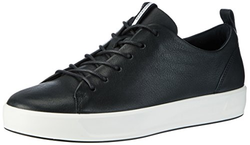 Ecco Damen Soft 8 Ladies Sneaker, Schwarz (1001BLACK), 37 EU