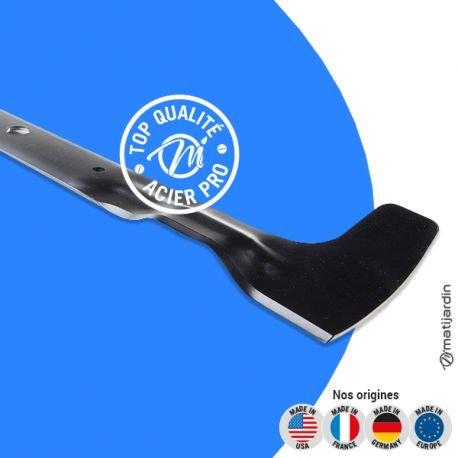 Lame tondeuse pour Iseki Cut Master CM65 84109501/0 coupe 62 cm - Pièce neuve