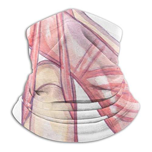 Bklzzjc Aquarell Pink Pointe Schuhe Kopfbedeckung Halsmanschette Wärmer Winter Skiröhrchen Schal Maske Fleece Gesichtsschutz Winddicht Für Männer Frauen Personalisiert